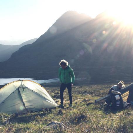 """Der """"Isle of Skye Trail""""                      137km zu Fuß durch die schottischen Highlands."""