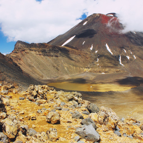 "Der ""Tongariro Crossing"" in Neuseeland"