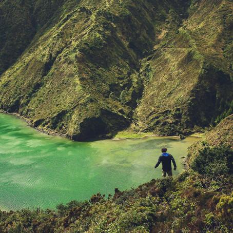 """Wanderungen auf """" Sao Miguel""""/ Azoren."""