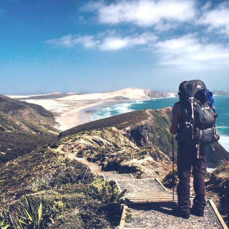 """Der  """"Te Araroa Trail""""  3000km zu Fuß durch Neuseeland"""
