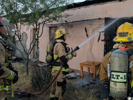 Firefighters save artwork during studio fire