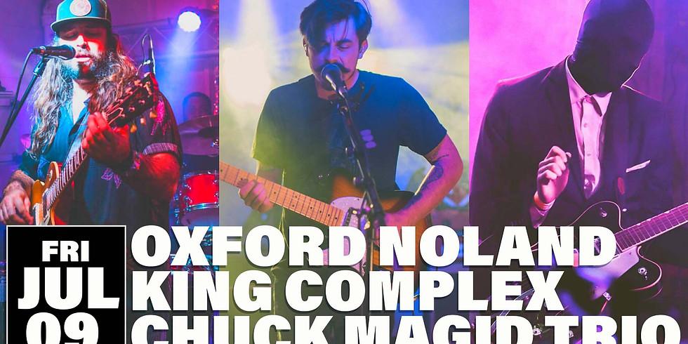 Oxford Noland, King Complex, Chuck Magid Trio