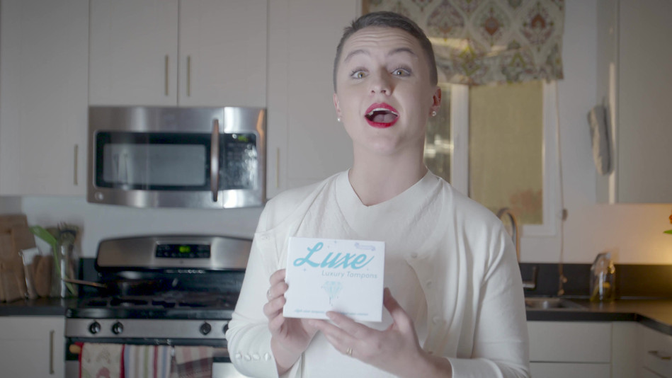 Luxe Tampons, 2018, 51.2 seconds