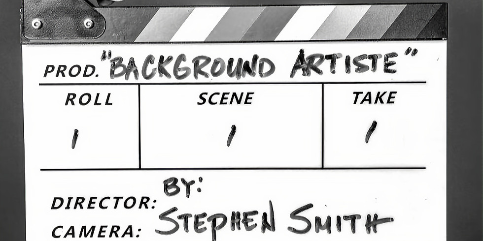 Background Artiste, by Steven Smith - June 12th
