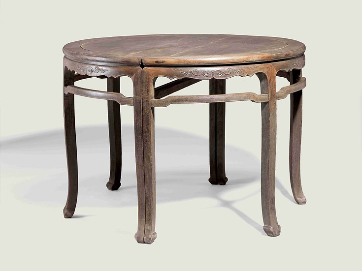 A Pair of Half-Round Tables