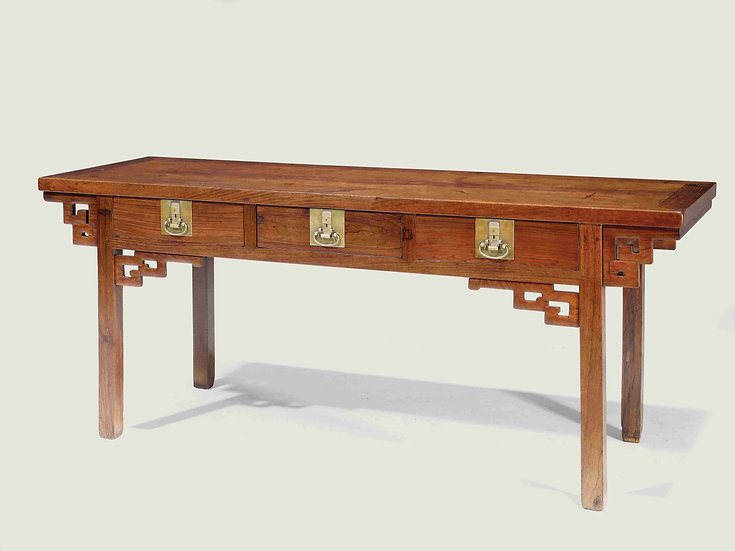 Table with Three Drawers