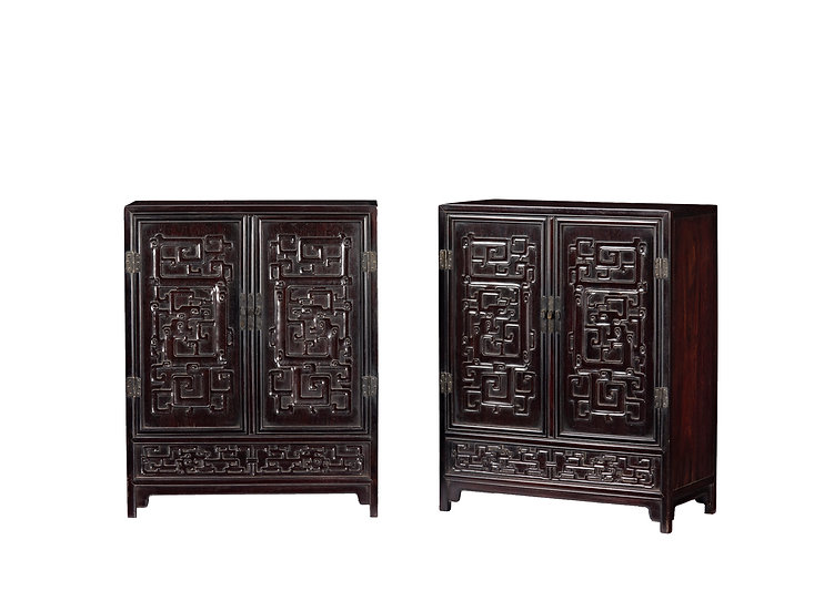 A Pair of Small Cabinets