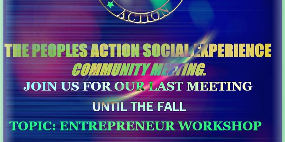 "Community Meeting ""Social Experience"" (1)"