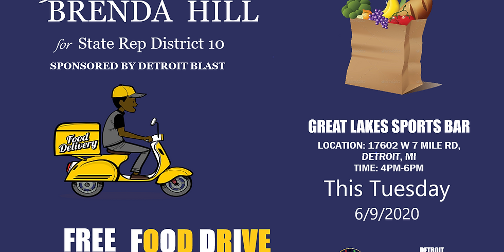 FREE MASS FOOD DRIVE FRUITS & VEGETABLES