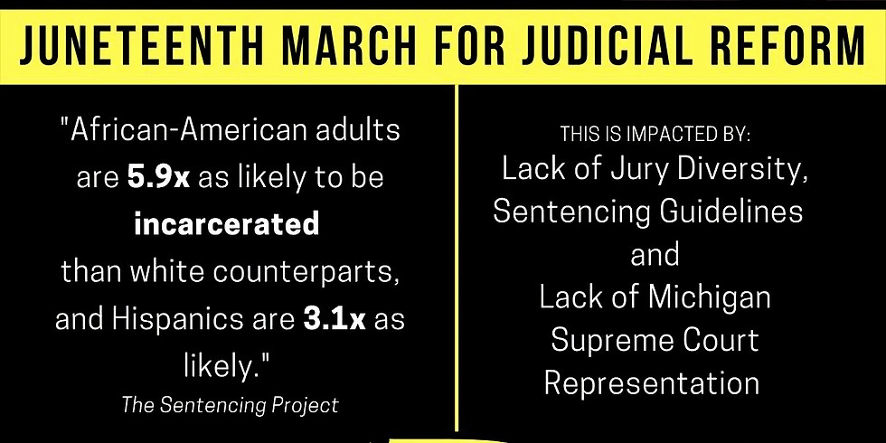 CALL FOR ACTION ON JUNETEENTH (JUDICIAL REFORM