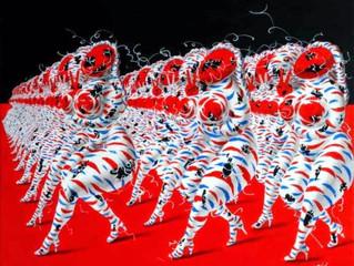 Demonic Painting by Guo Kaijun