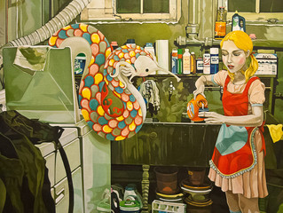 Seductive, surreal paintings by Jolene Lai