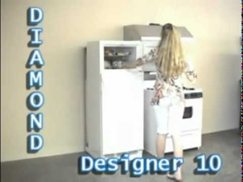 "PROPANE REFRIGERATORS BY ""DIAMOND"""
