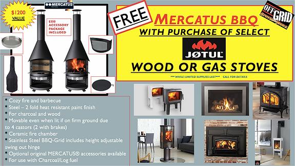MERCATUS FREE AD WITH JOTUL STOVE PURCHA