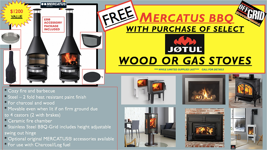 MERCATUS FREE AD WITH JOTUL STOVE PURCHA