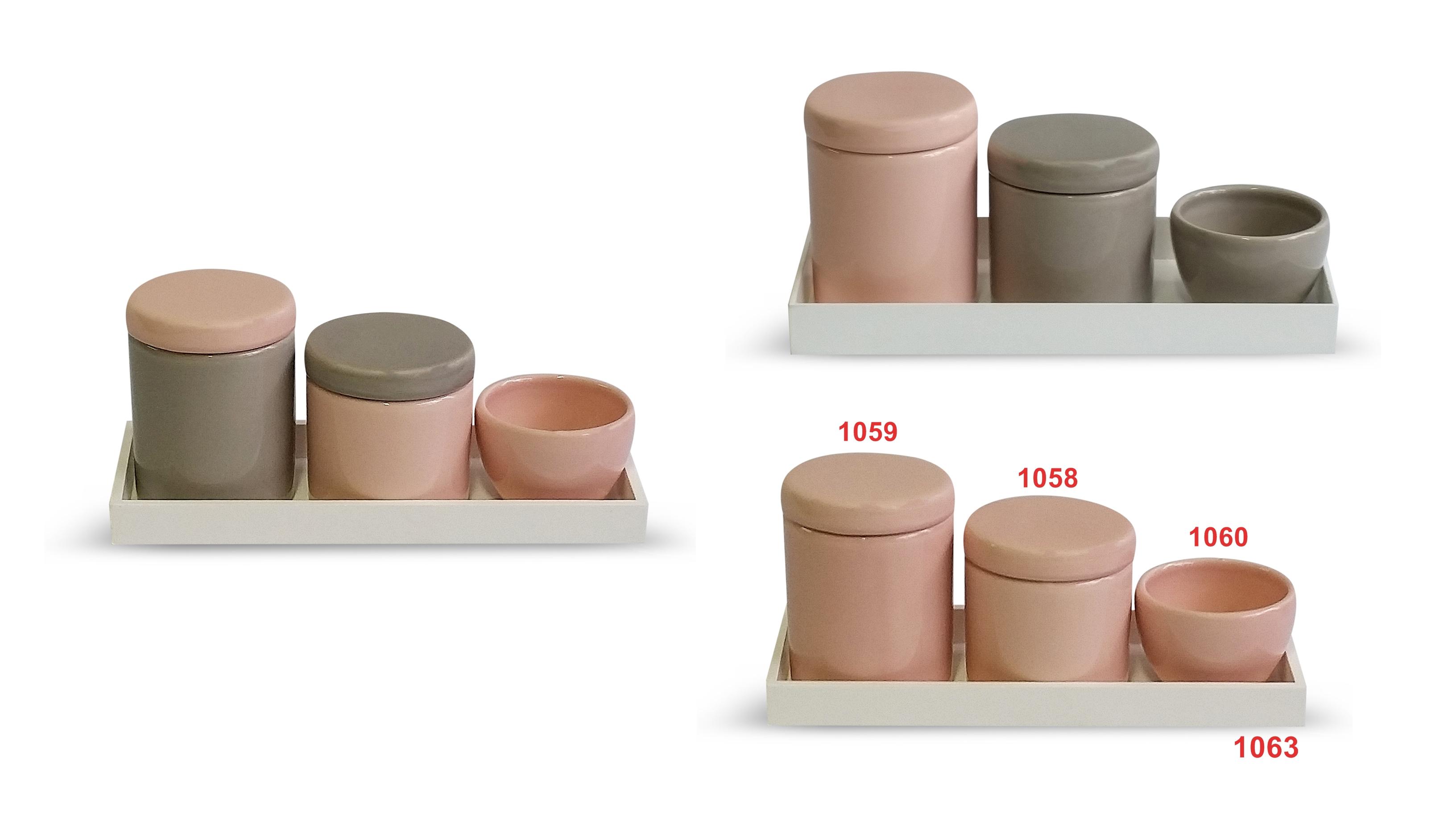 Potes Cerâmica Lisos