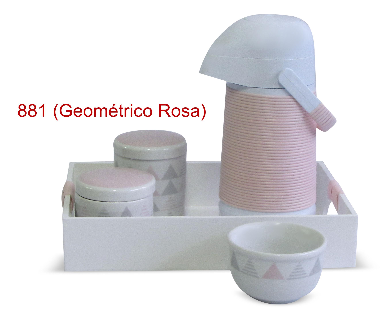 Geométrico Rosa