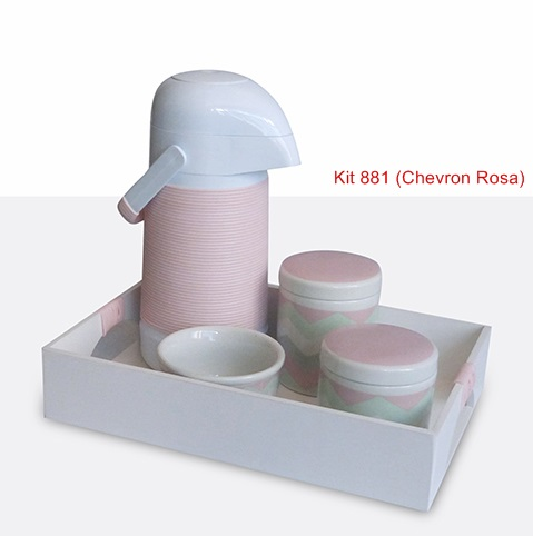 Kit 881 Chevron Rosa
