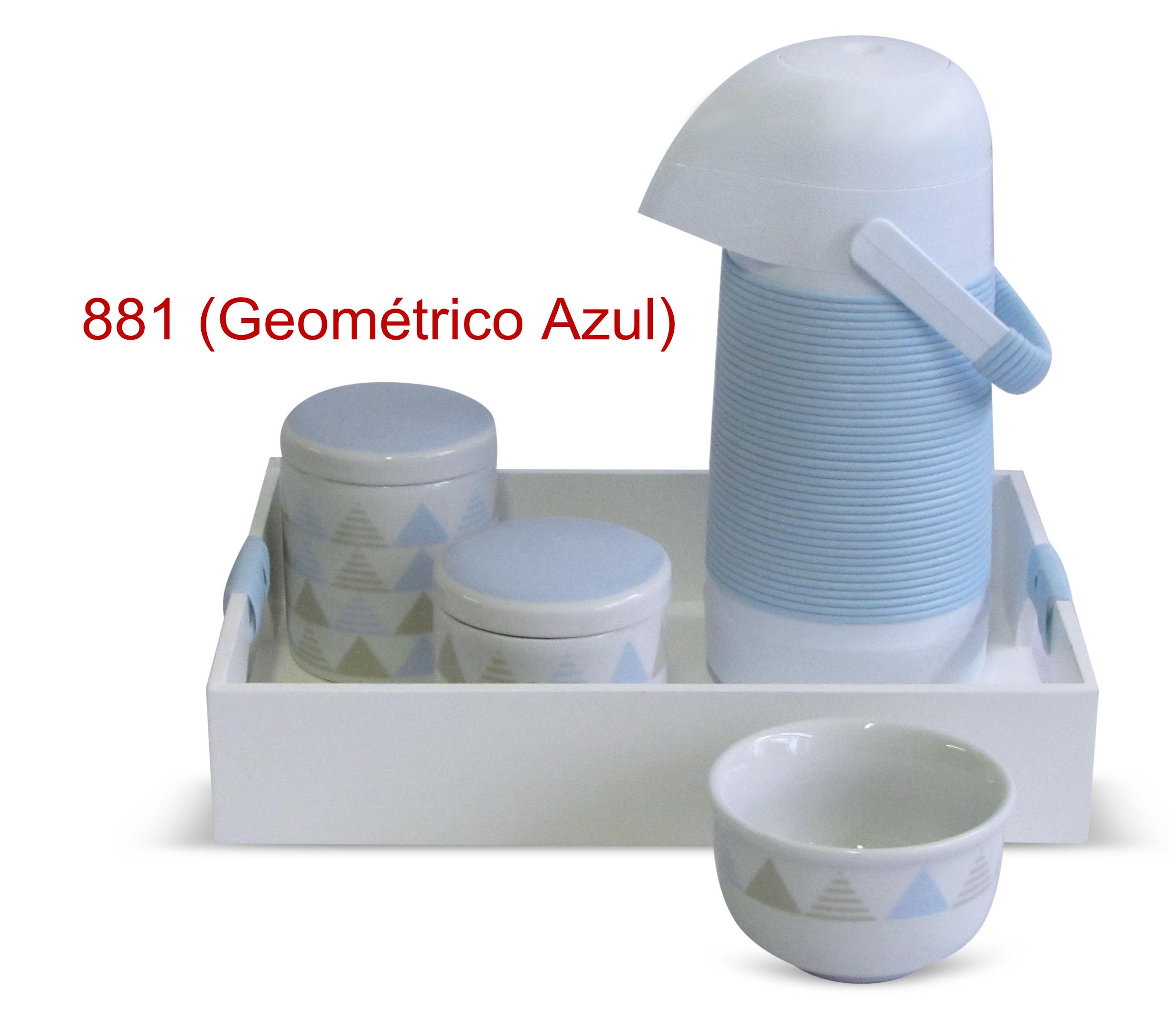 Geométrico azul