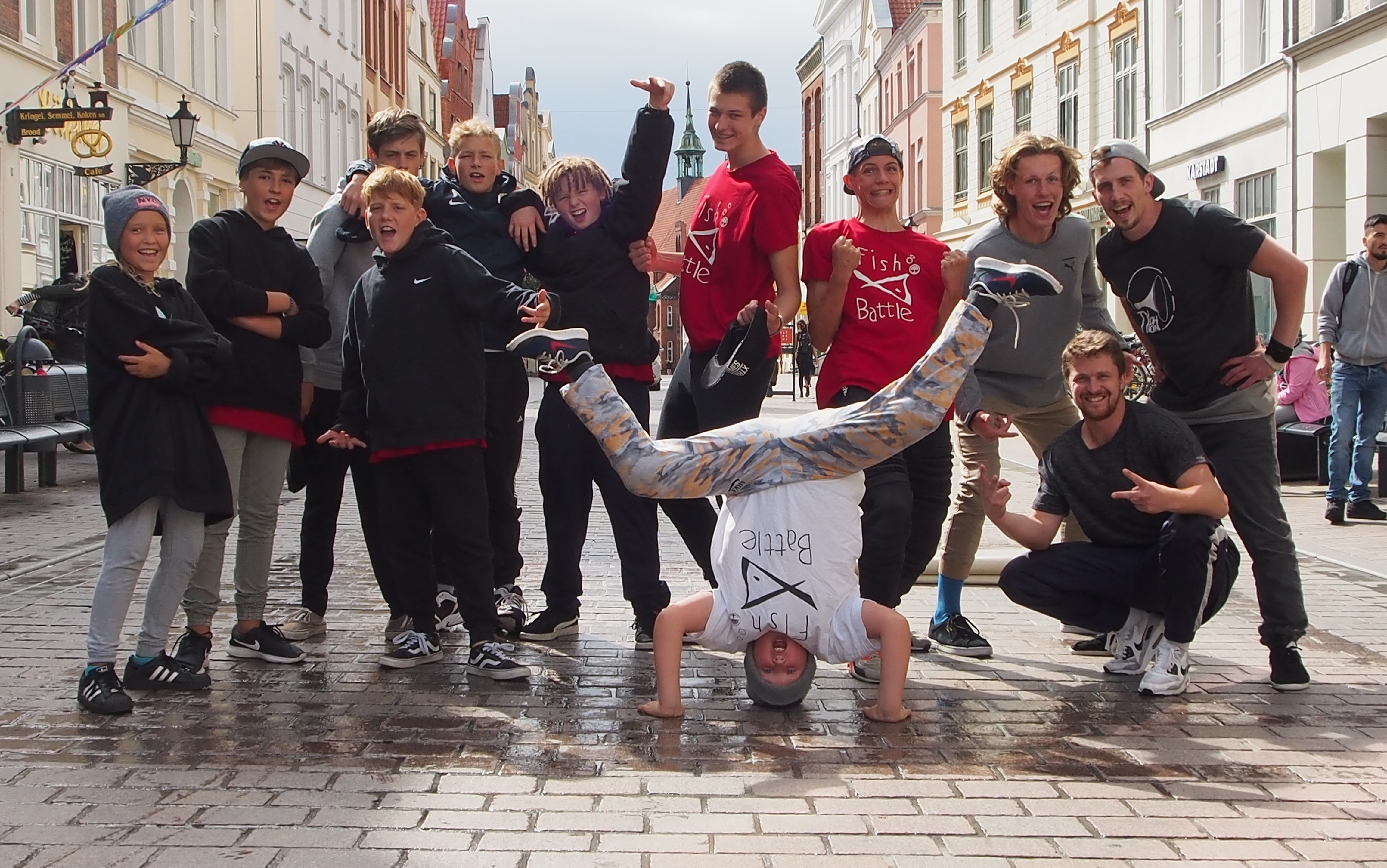 breakdance connexion streetshow kids