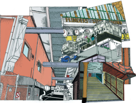 Architectural Drawing Artwork