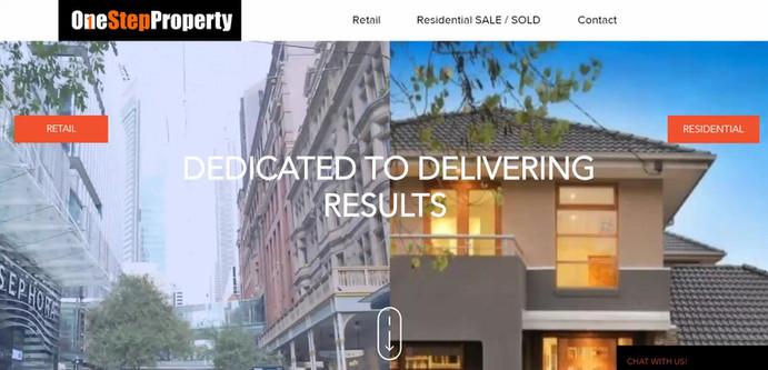 OneStepProperty Website