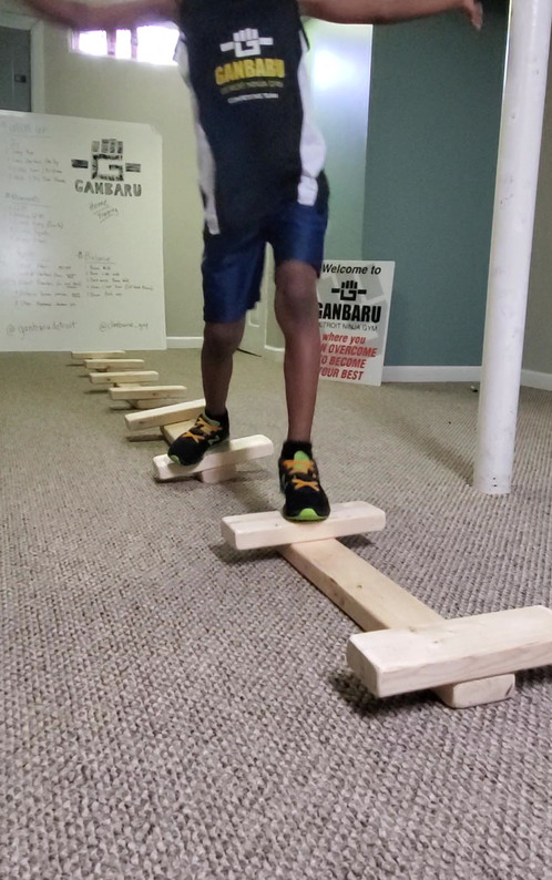 Up-side Down Straight Gap Trainer