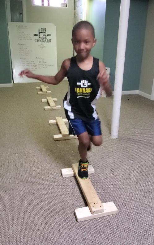 Straight Balance with Gap