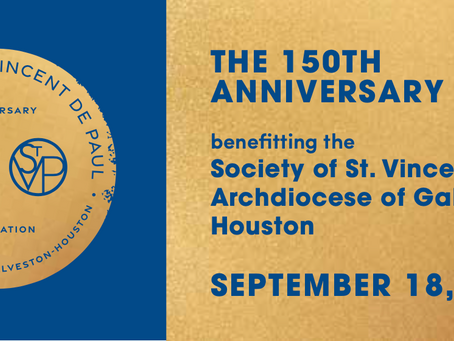 Society of St. Vincent de Paul Raises $450,000 for Programs at 150th Anniversary Gala