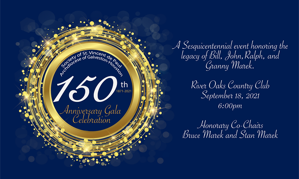 150th Anniversary Royal Blue Background
