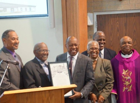 St. Monica Conference Vincentian, Willie French, Jr. Celebrates 50 Years of Service