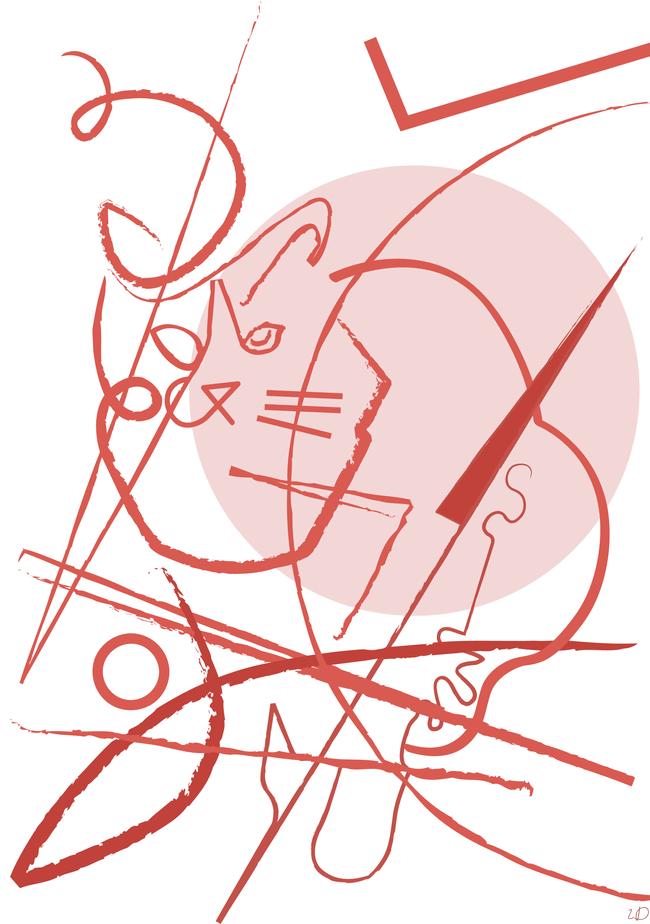"""""""Lazy-eye cat"""""""