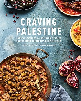 Craving Palestine Recipe Book, Pre-Order Now