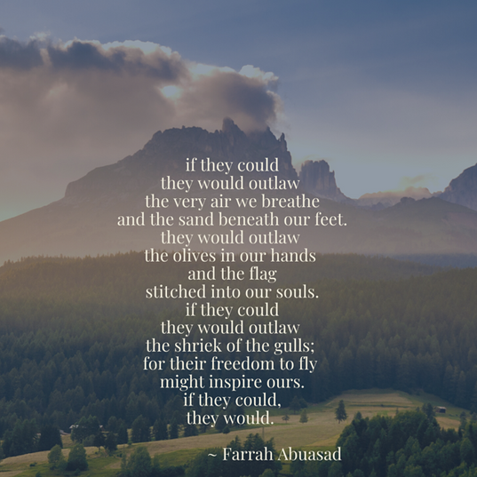 Farrah Abuasad poem
