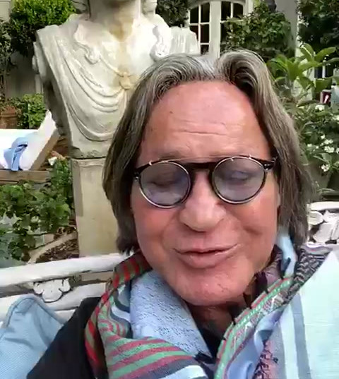 Recipe Contributor Mohamed Hadid video to Jerusalem supper club attendees