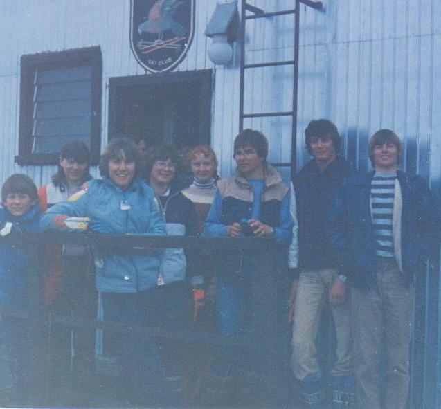 Johnny, Kate, Victoria, Gendie, Genny, Simon, Nigel & Peter