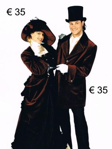 1900 dame - heer - fluweel  - lux def.jp