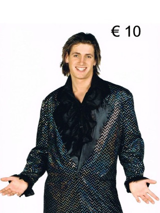 Glitter jas - in verschillende kleuren d