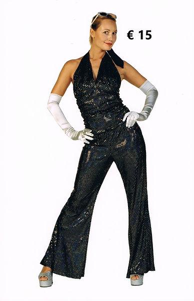 Glitter2 top met broek in verschillende