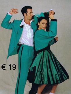 Rock en roll kostuum - kleed met jasje -