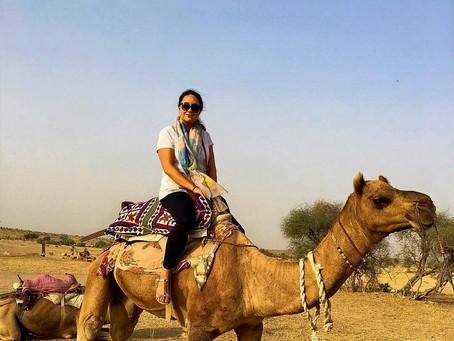 50 Shades of Gold in Jaisalmer and Spending the Night in Thar Desert
