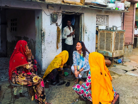 Haveli Heaven in Mandawa Village, Rajasthan