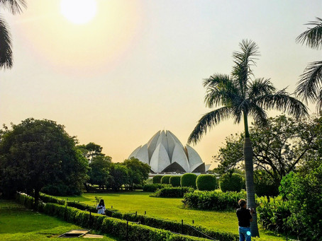 Where to Find Peace and Green Sceneries in Crazy Delhi, India?