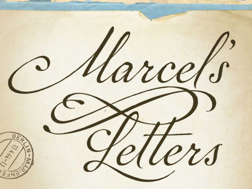 """Books About Letters: """"Marcel's Letters: A Font and the Search for One Man's Fate"""""""