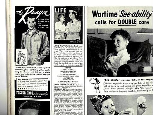 "A ""Colorful Romance"": Vintage Letters & a LIFE Article."