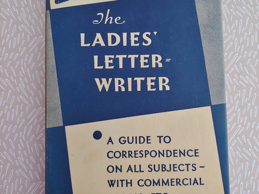 """Writing Through the Decades: """"The Ladies Letter Writer"""" (1954)"""