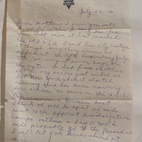 July 23 1919