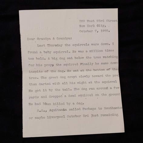 October 7, 1922