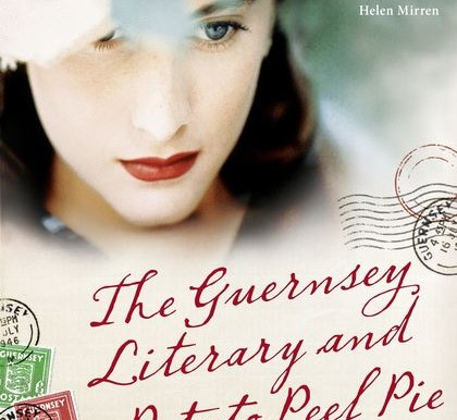"""Books About Letters: """"The Guernsey Literary and Potato Peel Society"""""""
