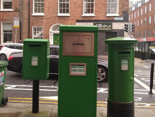 Were Ireland's Post Boxes always Green?